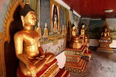 Chiang Mai 2. Temple Mountain in Chiang Mai, North Thailand Stock Photos