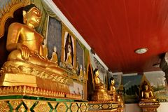 Chiang Mai 3. Temple Mountain in Chiang Mai, North Thailand Stock Photos
