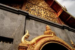 Chiang Mai 6. Temple Mountain in Chiang Mai, North Thailand Stock Image