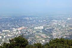 Chiang Mai. From Doi Suthep, Thailand Royalty Free Stock Photos
