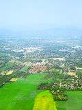 Chiang Mai Aerial View Royalty Free Stock Images