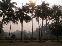 Chiang Mai Air Quality Index ( AQI) ist jetzt f?r empfindliche Gruppen ungesund stockfotos