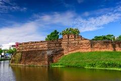 Chiang Mai Ancient City Wall Stock Photography