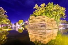 Chiang Mai ancient wall Stock Images