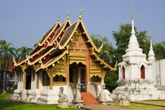 Chiang Mai Buddhist Temple Royalty Free Stock Photography