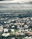 Chiang Mai City. Chiang Mai City : High angle view Planning Thailand [ HDR Stock Images