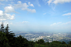 Chiang Mai city. Chiang Mai view from Doi Suthep, Thailand stock photography