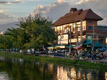 Chiang Mai City Center Royaltyfri Foto