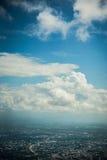 Chiang Mai Cityscape Arkivfoto