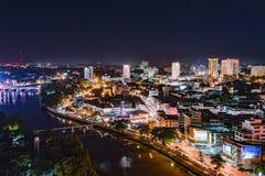 Chiang mai cityscape. Stock Image