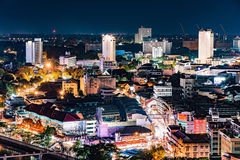 Chiang mai cityscape. Stock Images