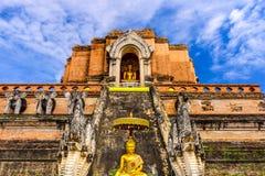 Chiang Mai, de Ruïnes van Thailand stock afbeeldingen
