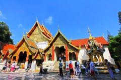 chiang mai doi phra suthep Ταϊλάνδη wat στοκ φωτογραφία