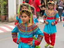 Chiang Mai Flower Festival Royaltyfria Foton