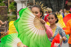 Chiang Mai Flower Festival Royaltyfria Bilder