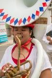 Chiang Mai Flower Festival Royaltyfri Fotografi