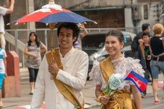 Chiang Mai Flower Festival Fotografia Stock