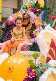 Chiang Mai Flower Festival Arkivfoton