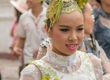 Chiang Mai Flower Festival Arkivbild