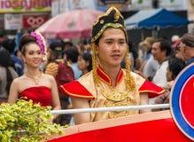 Chiang Mai Flower Festival Royaltyfri Foto