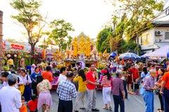Chiang Mai Flower Festival 2016 Photo libre de droits