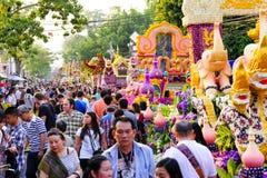 Chiang Mai Flower Festival 2016 Photo stock