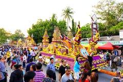 Chiang Mai Flower Festival 2016 Photographie stock