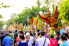 Chiang Mai Flower Festival 2016 Royalty-vrije Stock Afbeelding