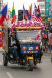Chiang Mai Flower Festival Stock Photos