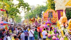 Chiang Mai Flower Festival 2016 Stock Photos