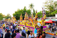 Chiang Mai Flower Festival 2016 Stock Photography