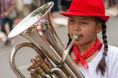 marching band marching Royalty Free Stock Photos