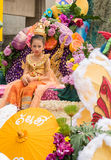 Chiang Mai Flower Festival Stock Photos