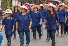 Chiang Mai Flower Festival Royalty Free Stock Photos