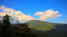 Chiang Mai góra i piękna linia horyzontu Zdjęcia Royalty Free