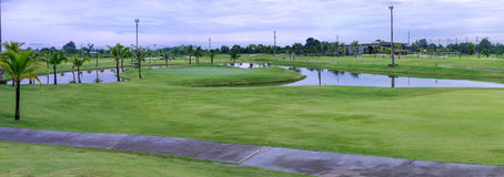 Chiang Mai Golf Course Stock Photos