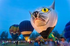 Chiang Mai Hot Air Balloon Festival Images libres de droits