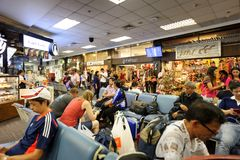 Chiang Mai International Airport CNX Image stock