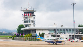 Chiang Mai International Airport (CNX) le 22 août 2015 Photographie stock