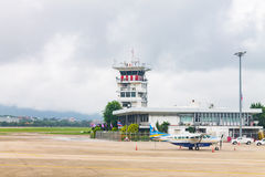 Chiang Mai International Airport (CNX) le 22 août 2015 Photos stock