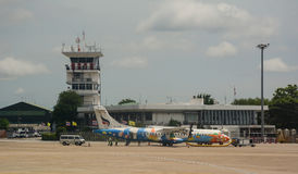 Chiang Mai International Airport en Thaïlande Photographie stock libre de droits