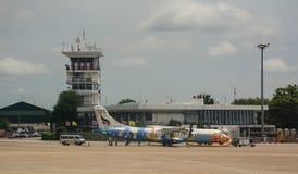Chiang Mai International Airport i Thailand Royaltyfri Fotografi