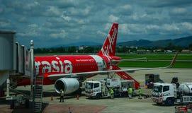 Chiang Mai International Airport i Thailand Arkivfoton