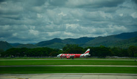 Chiang Mai International Airport in Tailandia Immagini Stock Libere da Diritti