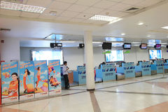Chiang Mai international airport Stock Photos