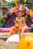 Chiang Mai kwiatu festiwal Obraz Royalty Free