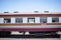 Chiang Mai - Lampang Thailand -May 30: Travelby train chiangmai Stock Photos
