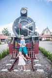 Chiang Mai - Lampang Thailand -May 30: Travelby train chiangmai Stock Photo