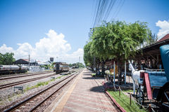 Chiang Mai - Lampang Thailand -May 30: Travelby train chiangmai Royalty Free Stock Photography