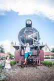 Chiang Mai - Lampang Thailand -May 30: Travelby train chiangmai Royalty Free Stock Photo